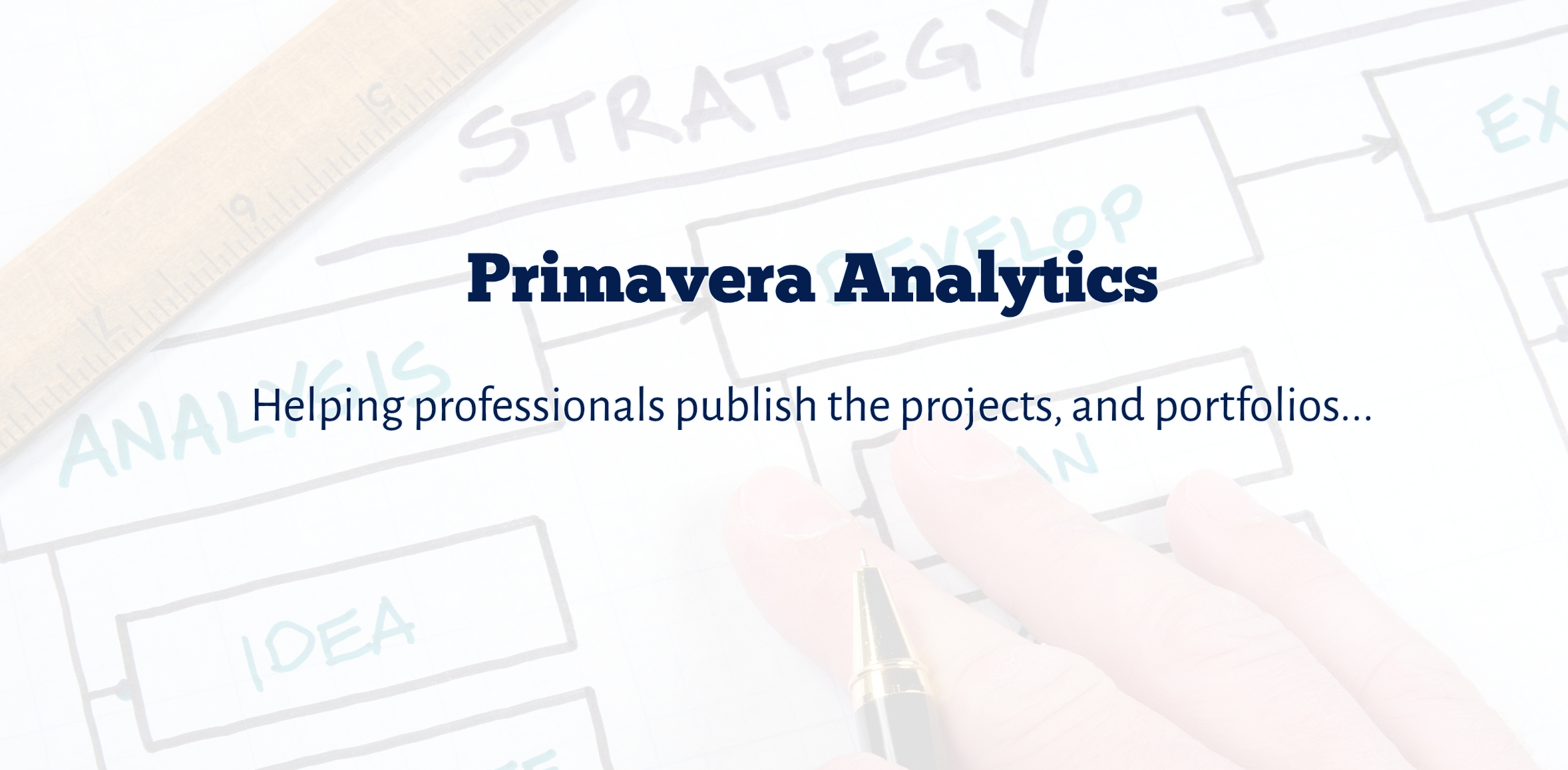 Primavera Analytics